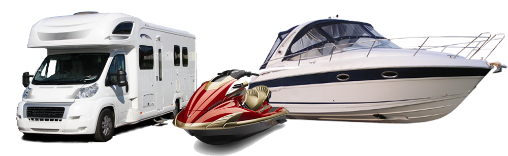 boats and caravans at auction