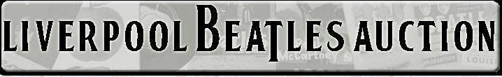 Liverpool Beatles Auction