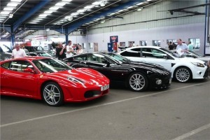 supercars at auction