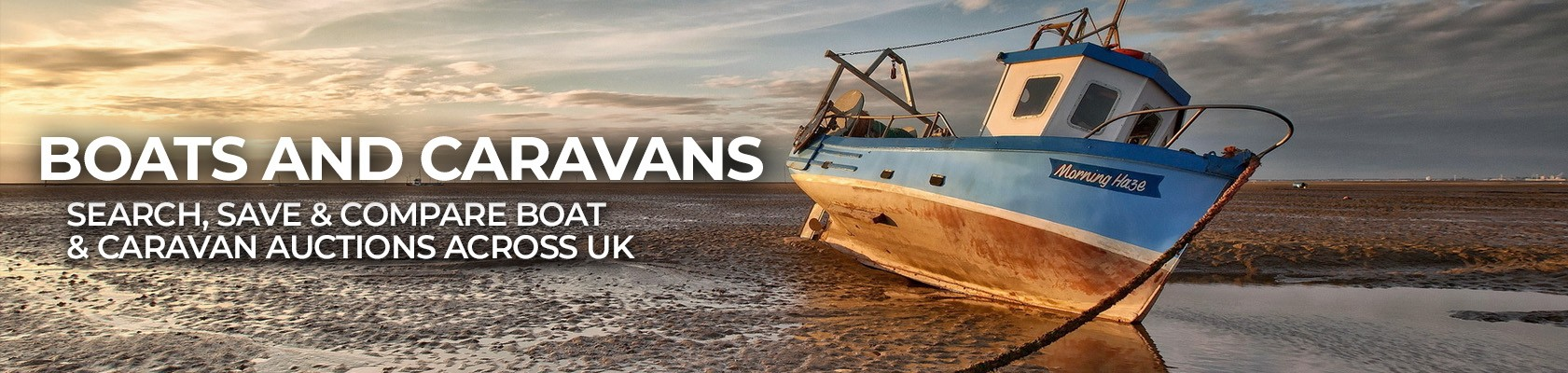 boat and caravan auctions